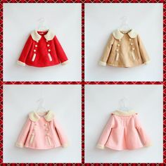 Babies Girls Suede Leather Fleece Lining Jackets Candy Color Coats Turn Down Collar Western Fall Winter Warm Clothing DHL Free S-in Jackets & Coats from Mother & Kids on Aliexpress.com | Alibaba Group