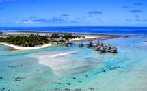 Set in the remote Tuamoto archipelago, the Tikehau Pearl Beach Resort feels like going back in time.