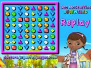 Doc McStuffins brings you her own classic bejeweled game. Have fun playing. Match 3, Doc Mcstuffins, Online Games, Have Fun, Doc Mcs