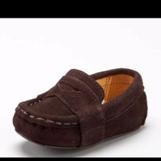 Baby cole haan suede loafers! We ordered a pair