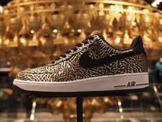 """Nike Air Force 1 Low """"Gold Elephant Print"""""""