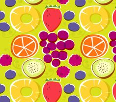 Love these colors Food Patterns, Textures Patterns, Print Patterns, Cute Pattern, Pattern Design, Food Illustrations, Illustration Art, Splash Studio, Colorful Fruit