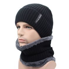 6f77e482444 Winter Beanies Men Scarf Knitted Hat Caps Mask Gorras Bonnet Warm Baggy Winter  Hats For Men Women Skullies Beanies Hats Item Type  Skullies   Beani.
