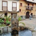 Plazuela de la Pasión en Guadalupe en Extremadura