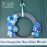 Interchangeable Pinwheel Wreath from The Crafty Scientist @keifu the Crafty Scientist