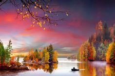 Colorful autumn - Lakes Wallpaper ID 1869406 - Desktop Nexus Nature