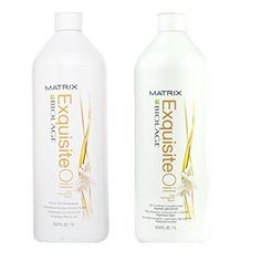 Matrix Biolage Exquisite Oil Shampoo and Conditioner 338 Ounce Set ** Read more reviews of the product by visiting the link on the image.