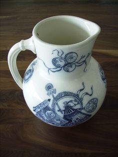 Regout earthenware jug 19th century - Maastrichts aardewerk - Wikipedia