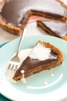 Chocolate Cookie Butter Pie