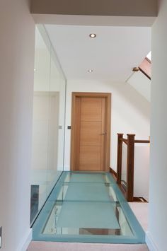 Glass Floor to First Floor Staircase