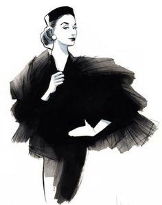 50 Beautiful Fashion Illustrations   Cuded