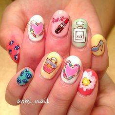 @aoki_nail(aoki_nail)によるInstagramの写真  Iconosquare