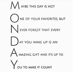 We cannot wait to be Monday! Do you? ---------------------------------------------- #digitalmarketing #marketing #onlinemarketing #remarketing #google #adwords #yahoo #bing #holonis #yelp #youtube #instagram #linkedin #pinterest #socialmedia #facebook #facebookmarketing  #cngdigitalmarketing #advertising #seo #sem #startup #entrepreneurs #web #website #internet #app #application #promotion #business by cngdigitalmarketing