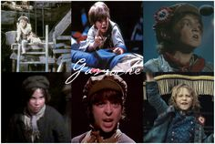 Les Mis | The various actors who've played Gavroche in Les Misérables through the years :)