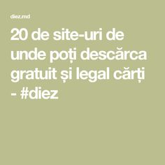20 de site-uri de unde poți descărca gratuit și legal cărți - #diez Math Equations