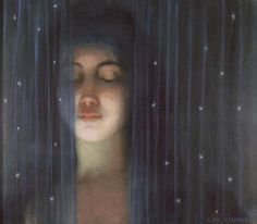 A Veil, c.1890 by Louis Welden Hawkins (French, 1849–1910)