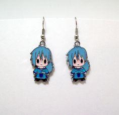 Magi anime earrings geek anime anime by Eternalelfcreations, $8.00