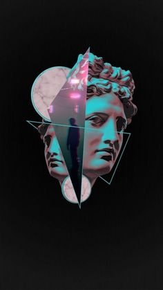 Vaporwave inspired art, etc. // Links to r/VaporwaveArt and I couldn't find image on the first couple of pages, so unsure as to who to credit Tumblr Wallpaper, Wallpapers Tumblr, Galaxy Wallpaper, Wallpaper Backgrounds, Wallpaper Sweet, Wallpaper Ideas, Vaporwave Wallpaper, Aesthetic Iphone Wallpaper, Aesthetic Wallpapers