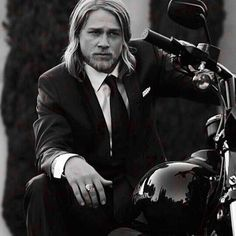 Suit up Sunday #charliehunnam #suitupsunday