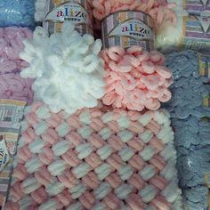Yarn Alize Puffy plush yarn children's yarn baby yarn blanket yarn plaid yarn velvet yarn micro-polyester yarn no hook yarn no neddle yarn – Finger Knitting Blanket Finger Knitting Blankets, Hand Knit Blanket, Blanket Yarn, Knitted Baby Blankets, Baby Blanket Crochet, Loom Knitting, Crochet Yarn, Baby Knitting, Knitting Patterns
