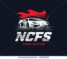 stock-vector-sport-car-logo-illustration-drag-racing-400515499.jpg (450×398)