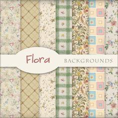 Scrap. DOT #flora #DIY #backgrounds