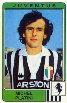 Míchel Platini, recién llegado a la Juventus.