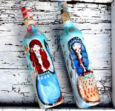Botellas de sirenas