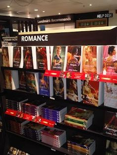 Mills & Boon Regency novels in the new Landmark store in Delhi, India! #Romance #Books #India
