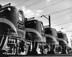 Artwork by O. Winston Link, Train engines, Made of gelatin silver print
