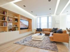 False Ceiling with Cove Lights