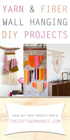 Yarn and Fiber Wall