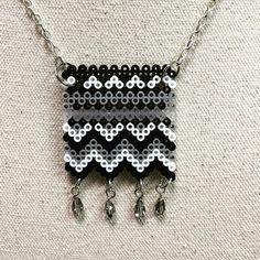 Necklace mini perler beads by  the_original_perler