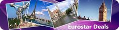 Get cheap Eurostar tickets and best travel option to explore Europe
