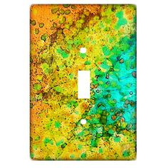 Glass Frit Light Switch - Free Fused Glass Light Switch Project