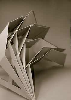 Title: Coplaner point details 2015 By Angela Broadbent www.angelabroadbent.com Folding Architecture, Architecture Student, Concept Architecture, Second Semester, Paper Sculptures, Project 4, Abstract Drawings, Paper Folding, Paper Models