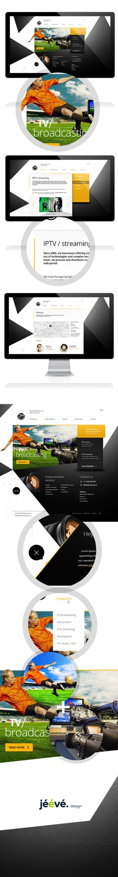 Sokols Power Voice by Jan Vašek. #website #webdesign