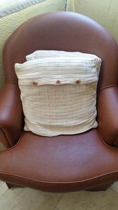 Almofadas em lã