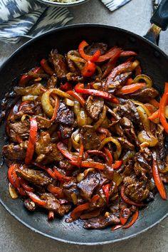 Curry Beef & Pepper Stir Fry