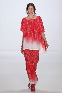 ESCADA SPORT SS13 collection presented on July 4th during the Mercedes-Benz Fashion Week of Berlin. A very colorful collection from California to the Guatemala