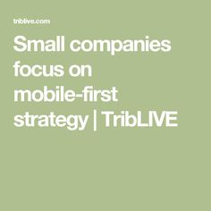 Small companies focus on mobile-first strategy Lawn Care Companies, Small Company, Seo Marketing, Business, Store, Business Illustration