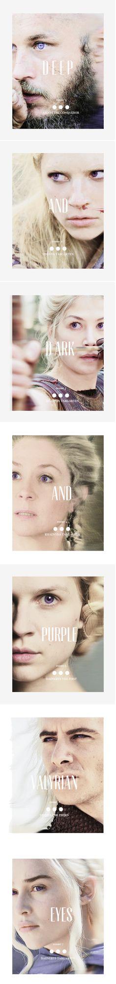 Targaryen archetype: Valyrian eyes #got #asoiaf