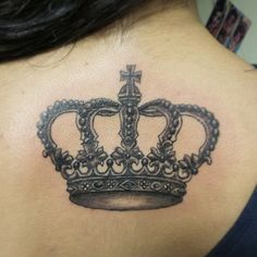 Crown tattoo #antalya #tattoobyhasan #newstudio #tattoo #crown #tac #kralice #farklilik