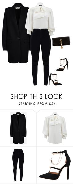 """Untitled #276"" by sb187 ❤ liked on Polyvore featuring STELLA McCARTNEY, Alexander McQueen and Yves Saint Laurent"