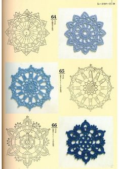 Crochet Patterns Book Motifs Edgings - 蒙 - Picasa Web AlbumsRound Motifs with chart.Here I have some diagrams crochet circles for you.Pastillas a crochetIrish lace, crochet, crochet patterns, clothing and decorations for the house, crocheted. Crochet Mandala Pattern, Crochet Flower Patterns, Crochet Diagram, Crochet Chart, Thread Crochet, Crochet Doilies, Crochet Flowers, Crochet Lace, Crochet Stitches