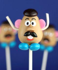cake pops Mr Patate
