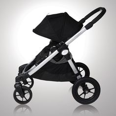 Baby Jogger City Select. I splurged on the stroller because I plan on using it EVERY DAY!!