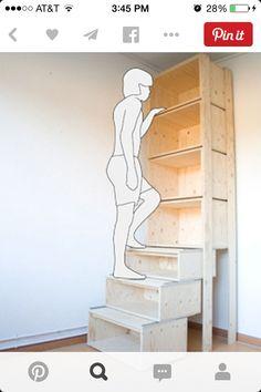 Shelf stairs