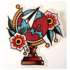 #tattoo #tattoos #tattooed #tattooing #tattooitalia #italiantattooartist #boldtattoos #classictattoo #oldschooltattoo #traditionaltattoo #traditionalflash #flash #ink #globetattoo #globe #world #wanderlust #available