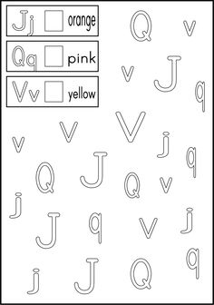 1000 images about kindergarten abc letter recognition on pinterest alphabet worksheets. Black Bedroom Furniture Sets. Home Design Ideas